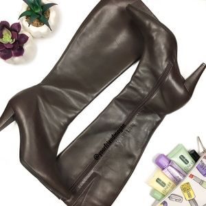 Antonio Melani Macey Pointed Toe Knee High Boots